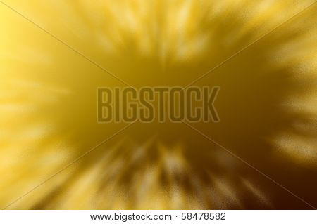 Delicate noise pattern - golden radial frame.
