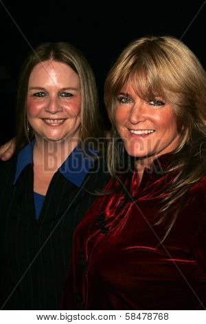 UNIVERSAL CITY - JULY 19: Susan Olsen and friend at the Premiere Screening of
