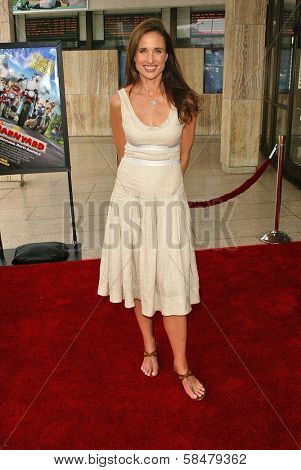 HOLLYWOOD - JULY 30: Andie MacDowell at the World Premiere of