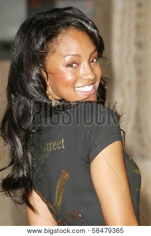 HOLLYWOOD - JULY 30: Drew Sidora at the World Premiere of