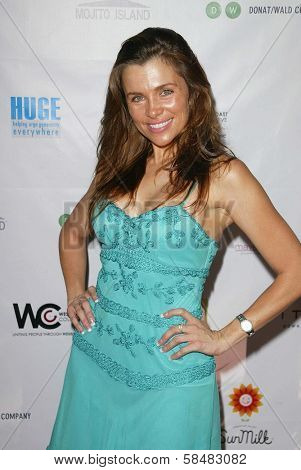 SANTA MONICA - JULY 23: Alicia Arden at the Sexy Summer Soire Party hosted by H.U.G.E benefiting Heal The Bay at AKWA Restaurant and Club on July 23, 2006 in Santa Monica, CA.