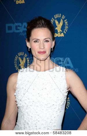 Jennifer Garner at the 65th Annual Directors Guild Of America Awards Arrivals, Dolby Theater, Hollywood, CA 02-02-13