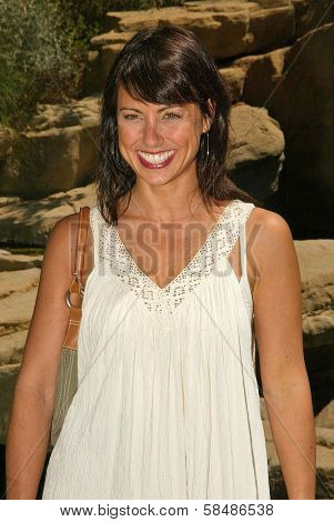 BEVERLY HILLS - AUGUST 06: Constance Zimmer at the Fulfillment Fund's Fifth Annual Summer Splash August 06, 2006 in Alfred Mann Residence, Beverly Hills, CA.