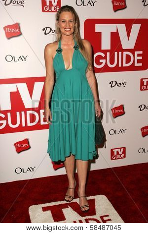 HOLLYWOOD - AUGUST 27: Samantha Smith at the TV Guide Emmy After Party August 27, 2006 in Social, Hollywood, CA.