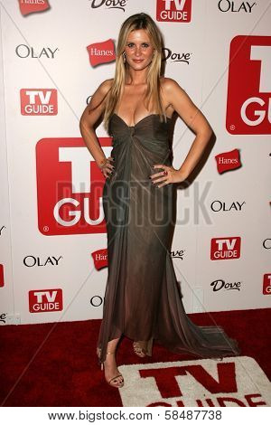 HOLLYWOOD - AUGUST 27: Bonnie Somerville at the TV Guide Emmy After Party August 27, 2006 in Social, Hollywood, CA.