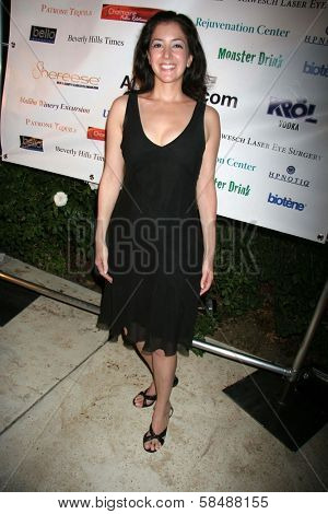 BEVERLY HILLS - JULY 15: Nicole Pano at the Principality of Lichtenstein's 200th Anniversary Party in Private Location on July 15, 2006 in Beverly Hills, CA.