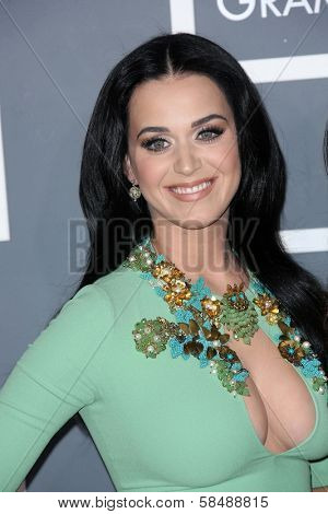 Katy Perry at the 55th Annual GRAMMY Awards, Staples Center, Los Angeles, CA 02-10-13