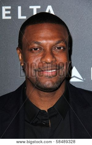 Chris Tucker at Delta Airline's Celebration of LA's Music Industry, Getty House, Los Angeles, CA 02-07-13