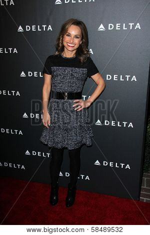 Giada De Laurentiis at Delta Airline's Celebration of LA's Music Industry, Getty House, Los Angeles, CA 02-07-13