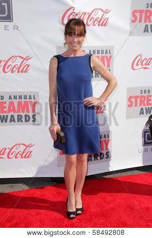 Nikki Deloach at the 3rd Annual Streamy Awards, Hollywood Palladium, Hollywood, CA 02-17-13