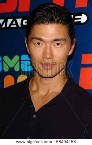 HOLLYWOOD - JULY 11: Rick Yune at ESPN The Magazine's