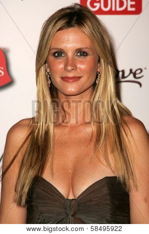 HOLLYWOOD - AUGUST 27: Bonnie Somerville at the TV Guide Emmy After Party at Social August 27, 2006 in Hollywood, CA.