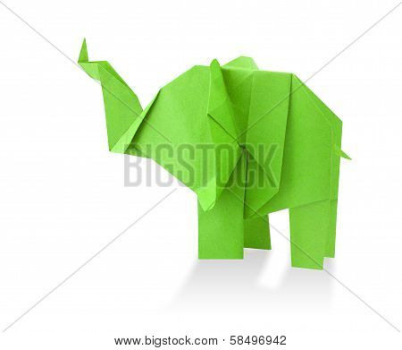 Traditional Elephant Origami