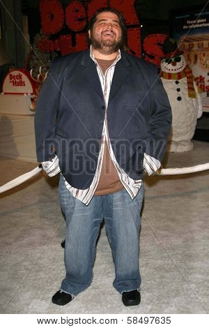 HOLLYWOOD - NOVEMBER 12: Jorge Garcia at the world premiere of