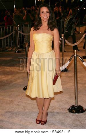 HOLLYWOOD - NOVEMBER 12: Kristin Davis at the world premiere of