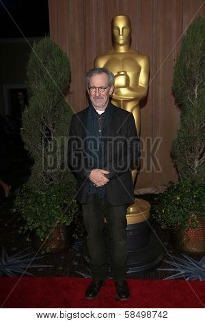Steven Spielberg at the 85th Academy Awards Nominations Luncheon, Beverly Hilton, Beverly Hills, CA 02-04-13