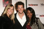LOS ANGELES - DECEMBER 02: Crystal Fambrini with Blake Mycoskie and Nzinga Blake at the