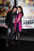 Bam Margera and Nicole Boyd at