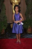 Quvenzhane Wallis at the 85th Academy Awards Nominations Luncheon, Beverly Hilton, Beverly Hills, CA
