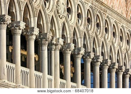 The Doges Palace In Venice