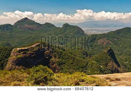 Tropical Mountain Landscape
