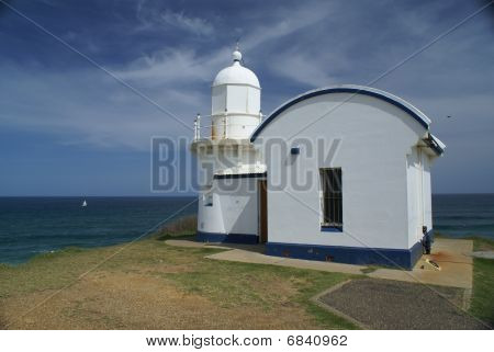 Tacking Point Lighthouse (port Macquarie, Nsw, Australia) Â
