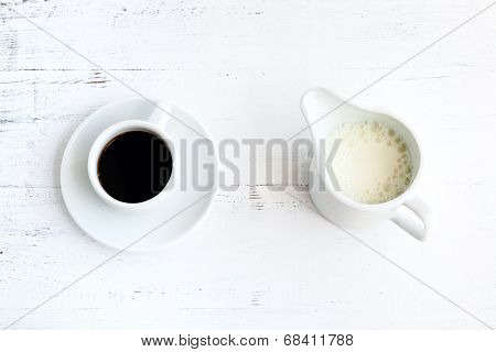 Coffee And Milk Cup