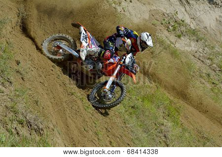 Marius Helmersen Competing In Red Bull Romaniacs Hard Enduro Rally
