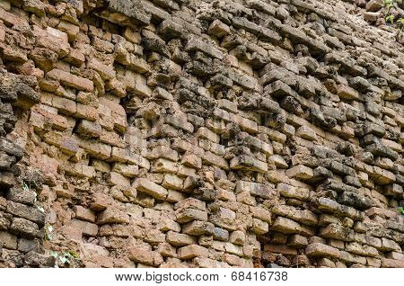 Ancient Brick Wall