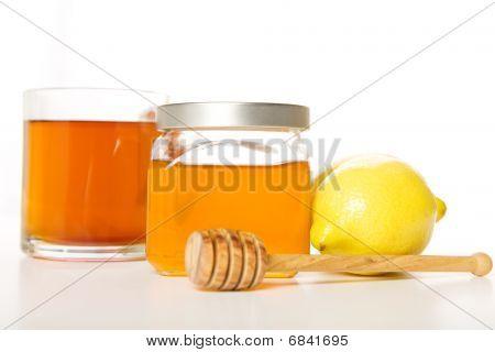 Honig, Tee, Zitrone