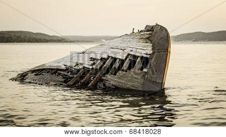 Shipwreck On Lake Superior