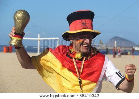 German fan - World Cup 2014