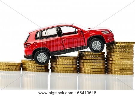 symbolic photo for car costs and inflation