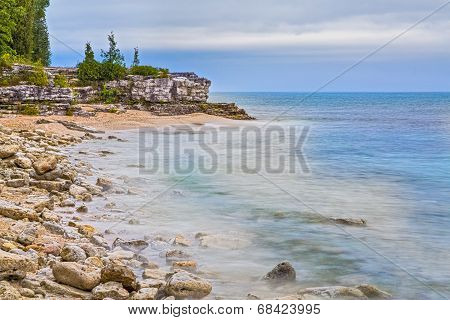 Cave Point Wisconsin Coastline