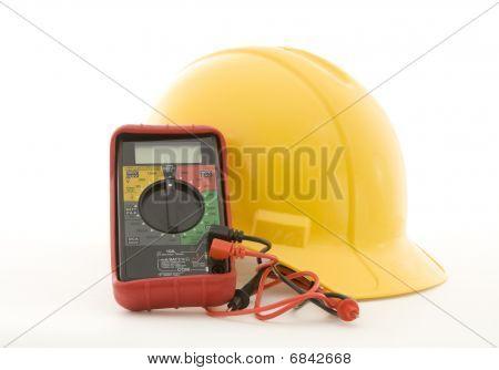 Helmet And Multi-meter