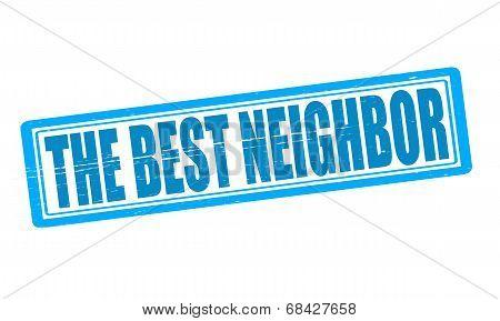 The Best Neighbor