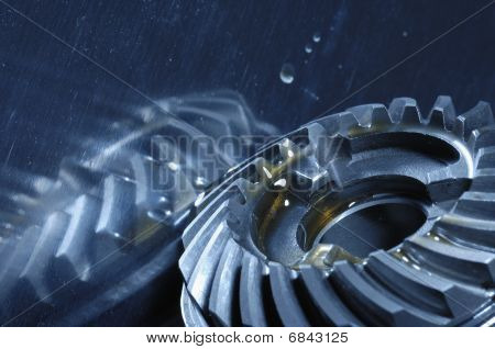 gears and oil