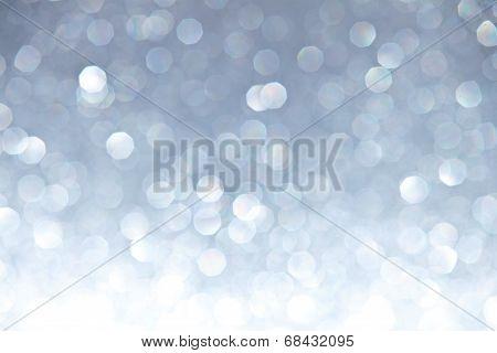 Defocused Ligh Silver Bokeh