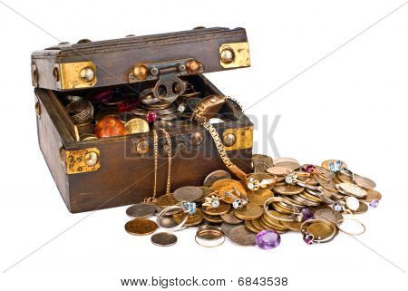 Valuable Chest Of Treasures