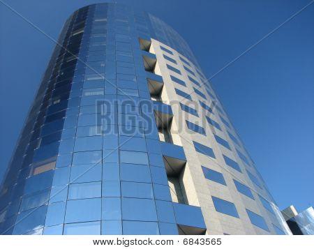 Modern office building in Bucharest Romania