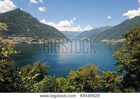 Lake Lecco, A Branch Of Como Lake, Italy