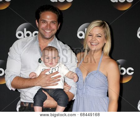 LOS ANGELES - JUL 15:  Brandon Barash, Harper Barash, Kirsten Storms at the ABC July 2014 TCA at Beverly Hilton on July 15, 2014 in Beverly Hills, CA
