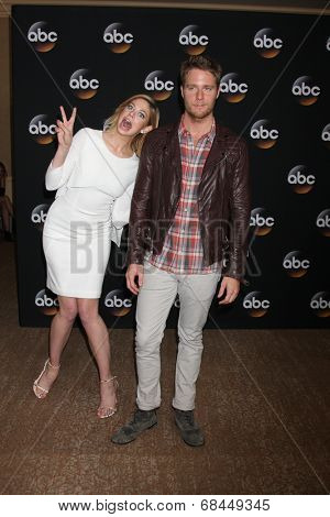 LOS ANGELES - JUL 15:  Analeigh Tipton, Jake McDorman at the ABC July 2014 TCA at Beverly Hilton on July 15, 2014 in Beverly Hills, CA