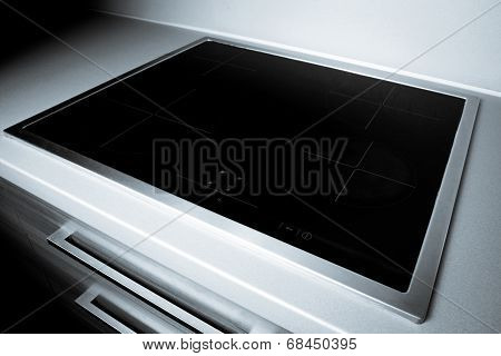 Modern induction hob