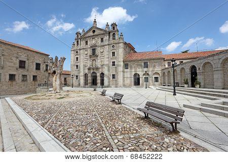 Convent Of Santa Teresa In Avila, Spain