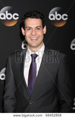 LOS ANGELES - JUL 15:  Andrew Leeds at the ABC July 2014 TCA at Beverly Hilton on July 15, 2014 in Beverly Hills, CA