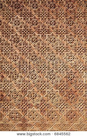 Background Of Arabic Pattern