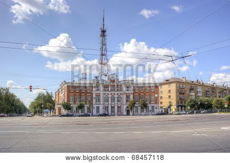 City Tver. Building Of Post Office