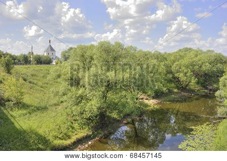 Tver. River Tmaka