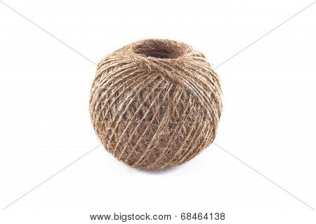 Skein of flax twine.